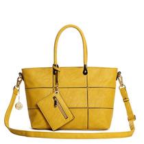 Bolsa Adriane Galisteu Agf12001 10a Amarelo