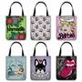 Bolsa Tote Bag - Bolsa Sacola - Tecido - Estampas Variadas