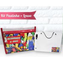 Kit Pastinha Mais Lousa Tema Lego