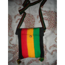 Bolsa Transversal - Cor Reggae Rastafari Feminina