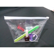 Kit Com 4 Unidades - Necessaire Transparente