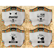 Bolsa Colorida Com Fecho - Cachorro/gato