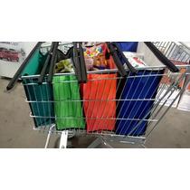 Kit Sacolas Supermercado - 4 Bags Com Uma Térmica