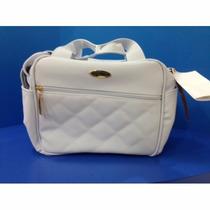 Bolsa Moderna - Marfim Golden - Classic For Babys Bags