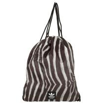 Bolsa Sacola Mochila Adidas Academia Original Pele Zebra