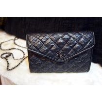 Bolsa Clutch Chanel (ferragem Prata)