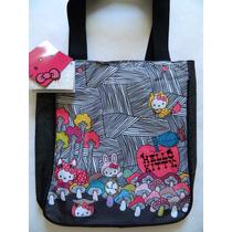 C969 - Bolsa Tote Bag Hello Kitty Original - 12x Sem Juros