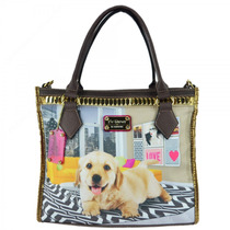Bolsa Rafitthy Be Forever Funny Golden 11.61112 | Catmania