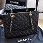 Bolsa Chanel Shopper Couro Original Sedex Gratis Todo Brasil
