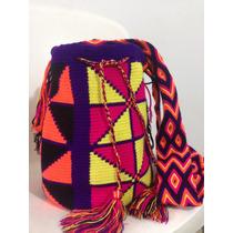Bolsa Wayuu Colorida Original !