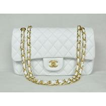 Linda Bolsa Chanel 31 Cm 2.55 Branca - Frete Gratis