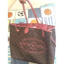 Bolsa Neverfull Monograma Louis Vuitton Gm Coleção Ikat