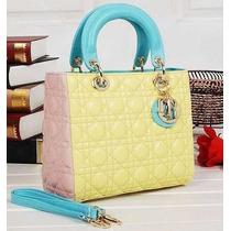Bolsa Dior Lady Di 25cm N Caixa 100% Original Pronta Entrega