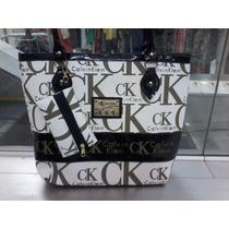 Bolsa Feminina Calvin Klein Branca - Já No Brasil +