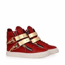 Sneaker Giuseppe Zanotti Vermelho - Tênis Kanye West