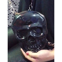 Bolsa De Caveira Skull Rock Punk Cosplay Emo Gótica