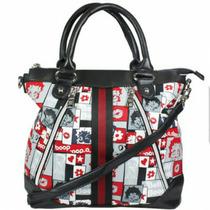 Bolsa Betty Boop B27a106 + Carteira Preta