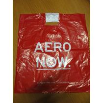 Sacola Aeropostale Plastico Papel Presente Tam M Roupas
