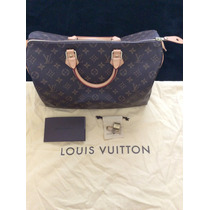 Bolsa Speedy 35 Monogram, Louis Vuitton Original