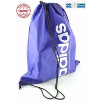 Bolsa Adidas Saquinho Gym Sack Linear - Original Nova