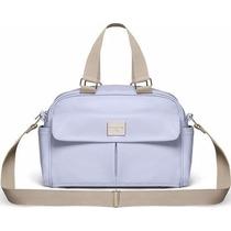 Bolsa Golden Média Classic For Baby Bags - Azul Claro