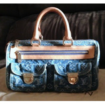 Bolsa Louis Vuitton Speedy 30 Blue Denim Original - Vídeo!!
