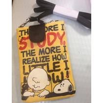 Bolsa Celular Snoopy - Transversal - Pronta Entrega!