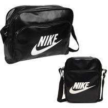 Bolsa Carteiro Nike + Bolsa Carteiro Nike Small. Promoção.