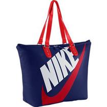 Bolsa Nike Heritage Si Tote Original - Azul + Nota Fiscal