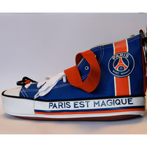 Bolsa Tipo Tênis All Star Paris Saint Germain Aprox. 25cm