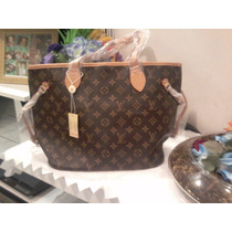 Bolsa Feminina Louis Vuitton Neverfull Monogram Pm