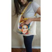 Bolsa Tira Colo Frida Kahlo