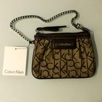 Bolsa De Mão Feminina Calvin Klein, Nova Com Etiqueta!!