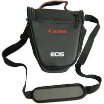 Bolsa Case P/ Camera D-slr Canon Rebel Eos T3i T4i 60d 5d 7d