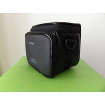 Bolsa Case Sony Para Camera Fotografica Semi Profissional.