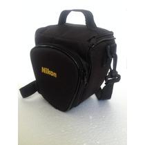 Bolsa Para Câmera Nikon Profissional E Semi Profissional
