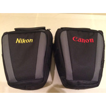 Bolsa Case Câmera Nikon D3100 D5100 D5200 Canon T3i T4i T5i
