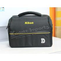 Bolsa Nikon D3100 D3200 D3300 D5100 D5500 D7100 D7200