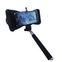 Monopod Bastão Selfie + Capa A Prova Dagua Moto G Iphone Lg