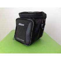 Bolsa Case Nikon Para Camera Fotografica Semi Profissional.