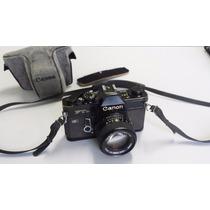 Câmera Fotográfica Canon Ftb Profissional Made In Japan