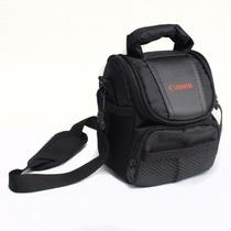 Bolsa Case Câmera Canon T2 T3 T4 T5 G1x Sx50 Sx170 Sx510