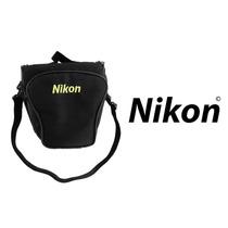 Bolsa Case Triangular Para Slr Nikon Ou Semi-profissional
