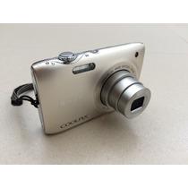Câmera Nikon Coolpix S3100 14.1 Mp Mais Cartão Sd De 8gb