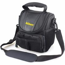 Bolsa Case Câmera Nikon Linha Dslr D3100 D3200 D5100 D5200