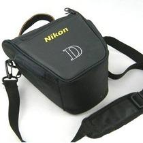 Bolsa Case Capa Nikon D3100 D5100 D90 D80 D70 D60 D50 D40