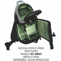 Mochila P/ Filmadora Ou Câmera Digital Nikon Sony Canon Etc