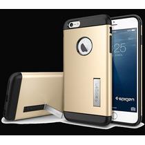 Capa Case Slim Tough Armor Iphone 6 Plus 5.5 + Película Top