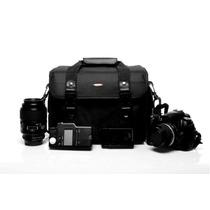 Bolsa Fotografia Para Camera Dslr Cannon Sony Nikon Olimpic