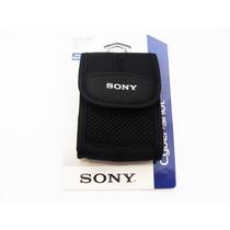 Capa Case Sony Cyber-shot Dsc Wx7 J10 Tx10 Tx100v Preta